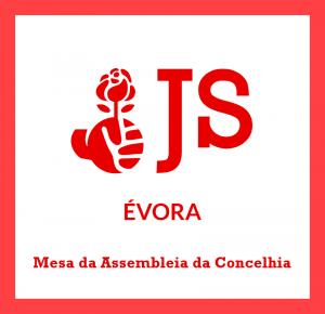Site JS Évora - Imagem - Mesa da Assembleia da Concelhia