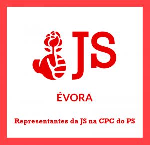 Site JS Évora - Imagem - Representantes da JS na CPC do PS