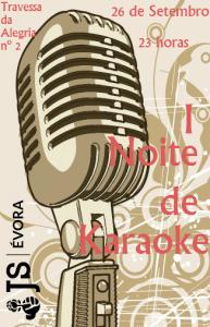 I Noite de Karaoke JS Évora